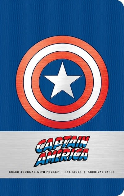 Insights Marvel: Captain America (Hardcover Ruled Journal)