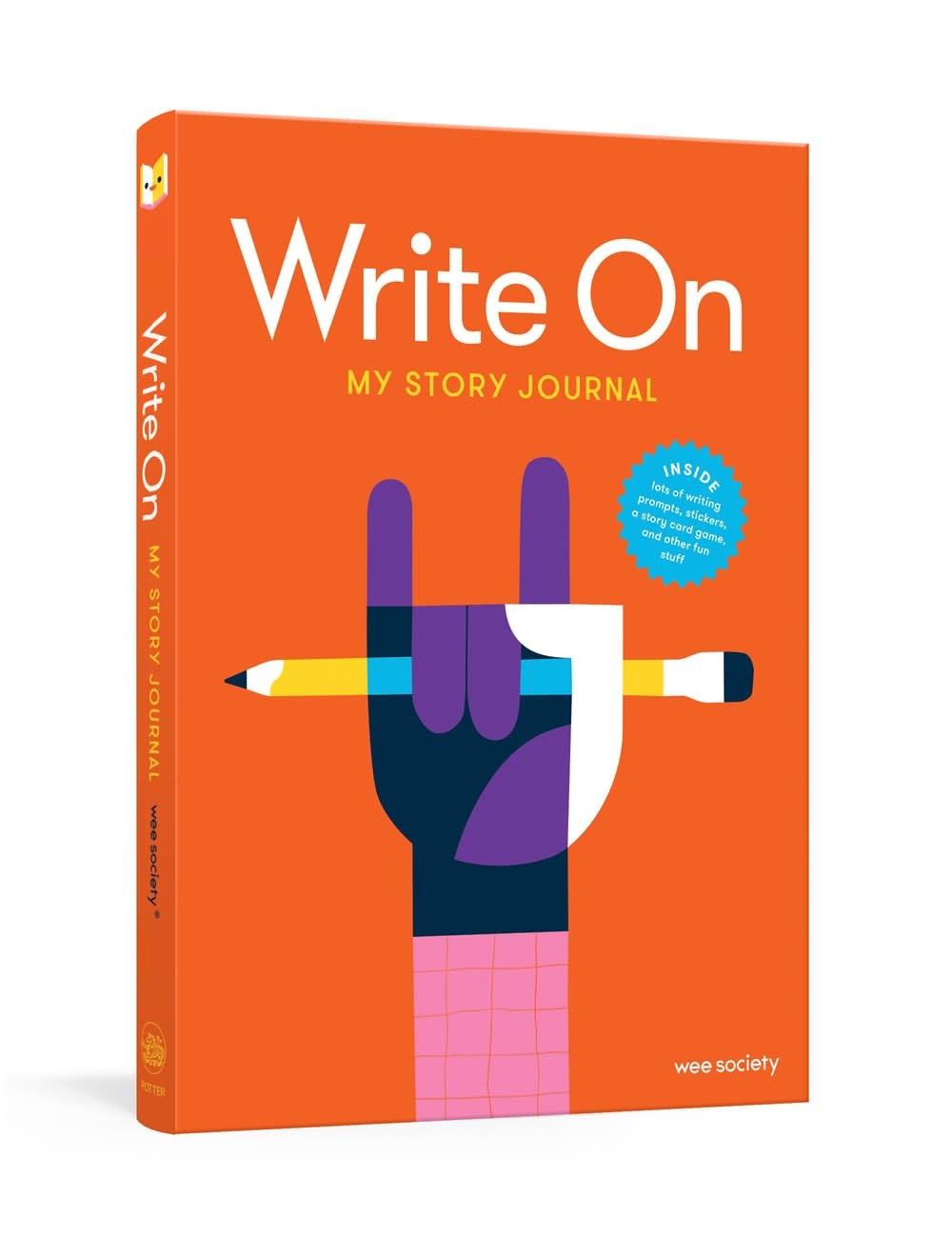 Clarkson Potter Write On: My Story Journal