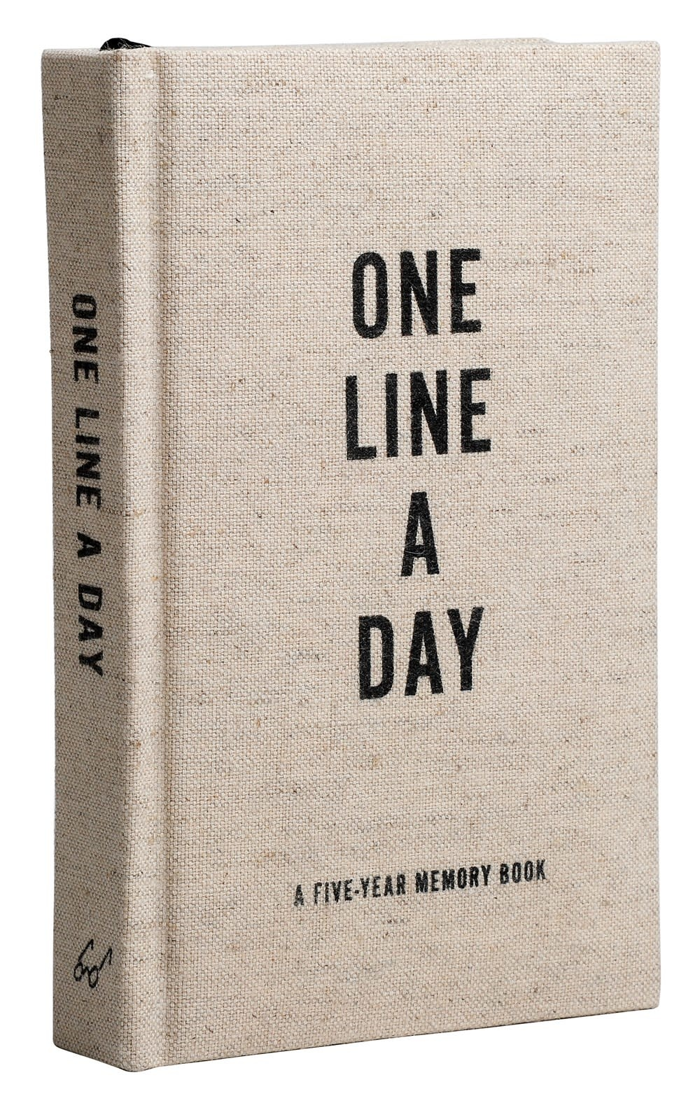 Chronicle Books Canvas One Line a Day: A Five-Year Memory Book