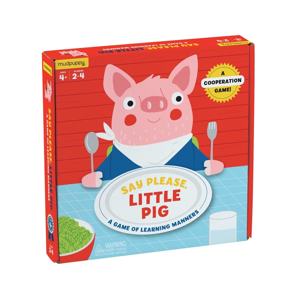 Mudpuppy Say Please, Little Pig (Board Game)