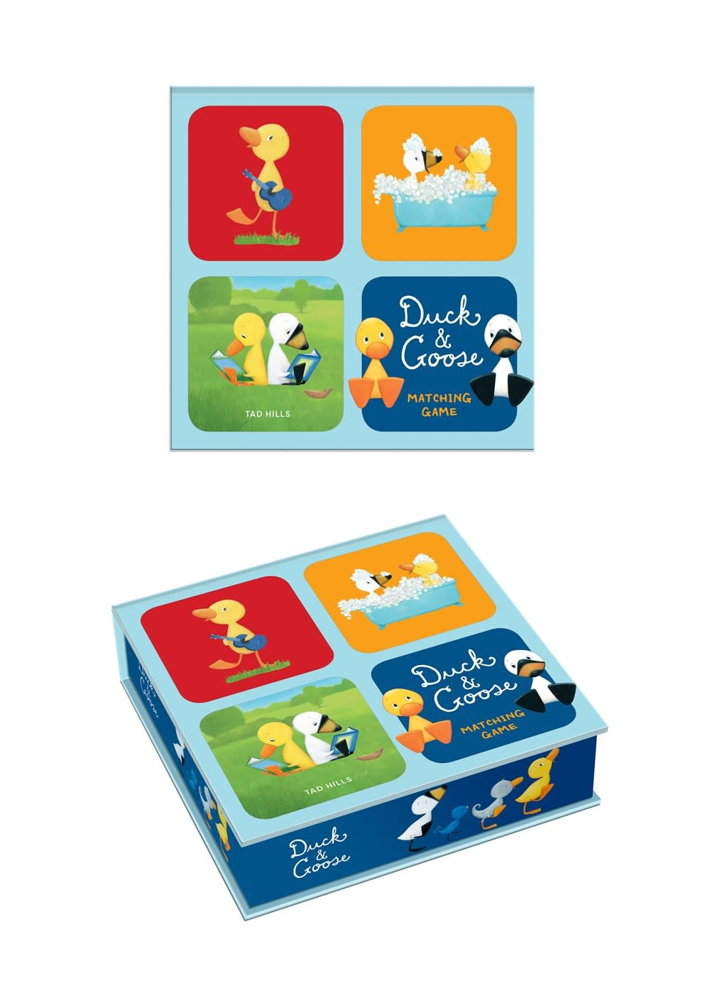 Clarkson Potter Duck & Goose (Matching Game)