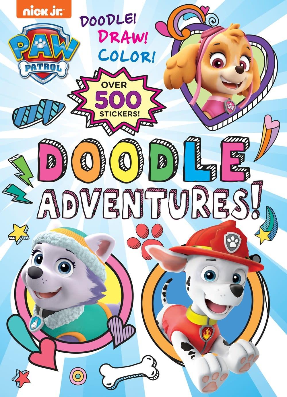Golden Books PAW Patrol: Doodle Adventures!