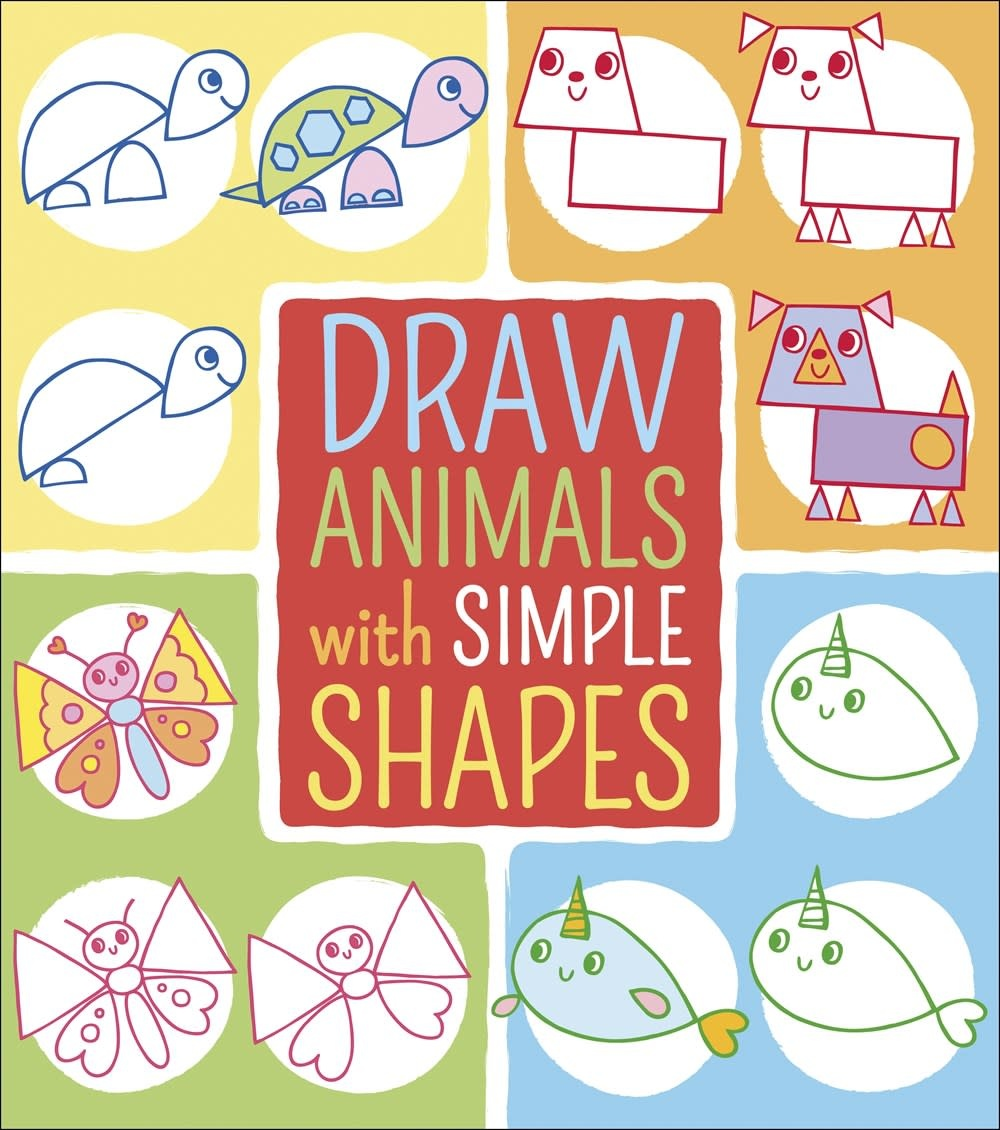 Arcturus Publishing Limited Draw Animals with Simple Shapes