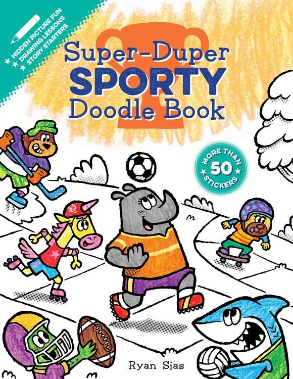 HMH Books for Young Readers Super-Duper Doodle Book: Sporty
