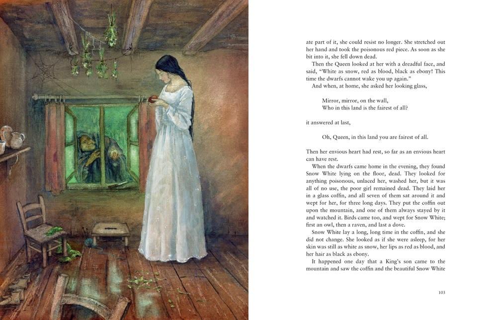 Floris Books An Illustrated Treasury of Grimm's Fairy Tales