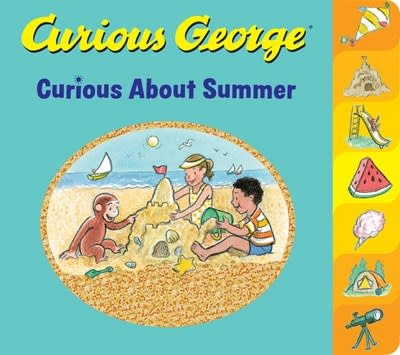 HMH Books for Young Readers Curious George Curious About Summer (tabbed board book)