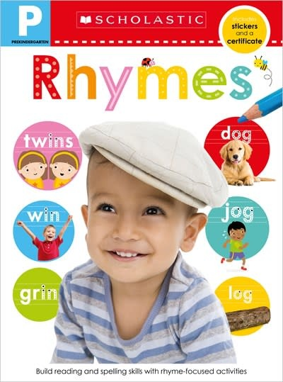 Scholastic Inc. Pre-K Skills Workbook: Rhymes (Scholastic Early Learners)