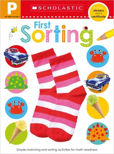 Scholastic Inc. Get Ready for Pre-K Skills Workbook: First Sorting (Scholastic Early Learners)