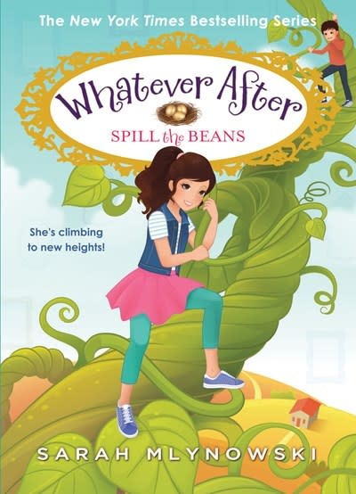 Scholastic Press Spill the Beans (Whatever After #13)