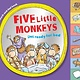 HMH Books for Young Readers Five Little Monkeys Get Ready for Bed (touch-and-feel tabbed board book)