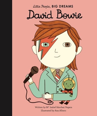 Lincoln Children's Books Little People, Big Dreams: David Bowie