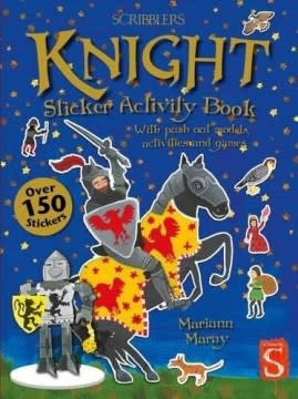 Scribblers Knight Sticker Activity Book