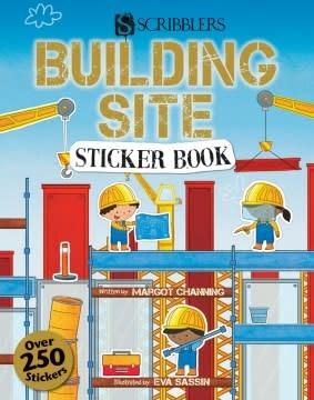 Scribblers Building Site Sticker Book