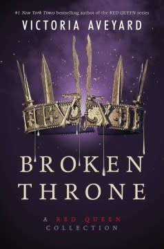 HarperTeen Broken Throne: A Red Queen Collection