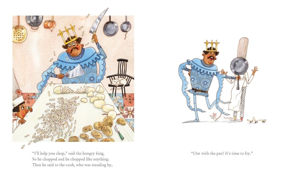 Abrams Books for Young Readers The Cook and the King