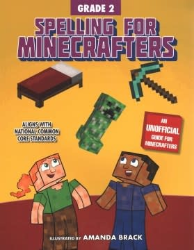 Sky Pony Press Spelling for Minecrafters: Grade 2