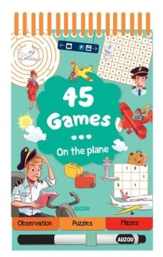 Auzou 45 Games: On the Plane