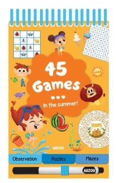 Auzou 45 Games: Fun in the Sun