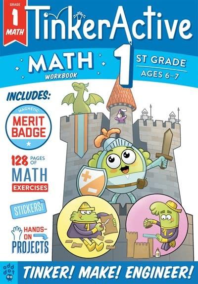Odd Dot TinkerActive Workbooks: 1st Grade Math