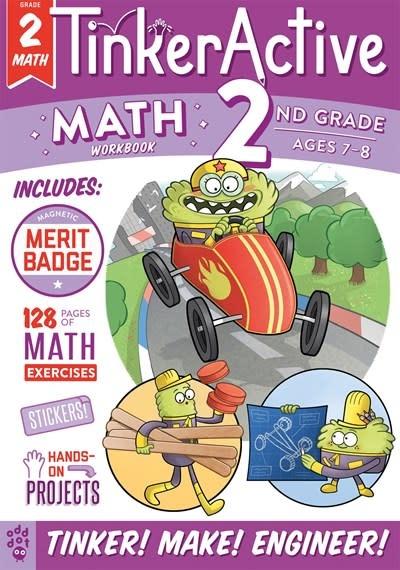 Odd Dot TinkerActive Workbooks: 2nd Grade Math