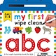 Priddy Books My First Wipe Clean: ABC