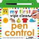 Priddy Books My First Wipe Clean: Pen Control