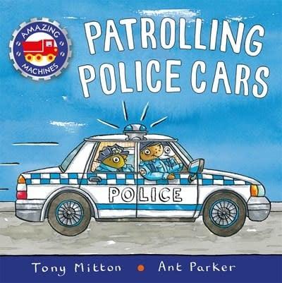 Kingfisher Patrolling Police Cars