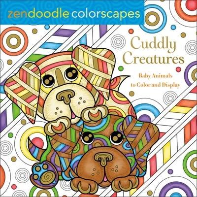 Castle Point Books Zendoodle Colorscapes: Cuddly Creatures