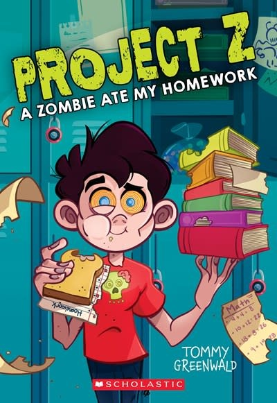 Scholastic Paperbacks Project Z 01 A Zombie Ate My Homework