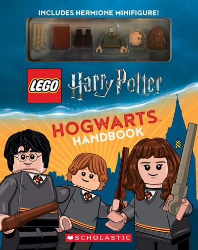 Scholastic Inc. LEGO Harry Potter Hogwarts Handbook with Hermione Minifigure