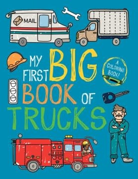 little bee books My First Big Book of Trucks