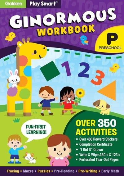Gakken Play Smart Ginormous Workbook - Preschool