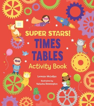 Arcturus Publishing Limited Super Stars! Times Tables Activity Book