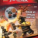 Scholastic Inc. Activity Book with minifigure (LEGO NINJAGO)