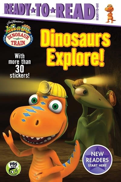 Simon Spotlight Dinosaurs Explore!