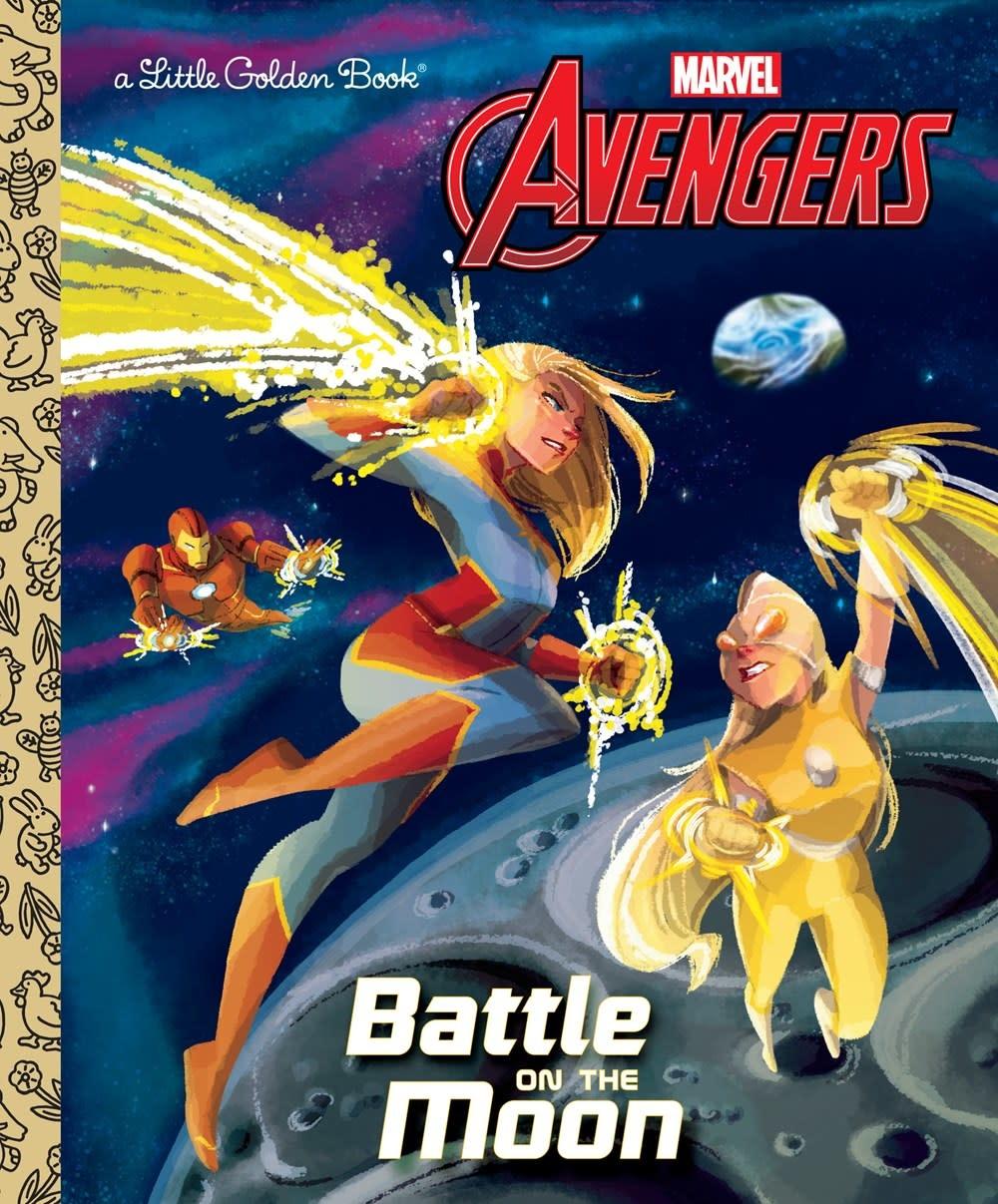 Golden Books Marvel Avengers: Battle on the Moon!