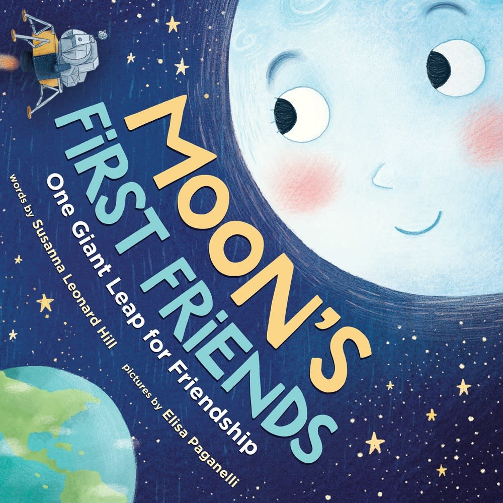Sourcebooks Jabberwocky Moon's First Friends: One Giant Leap for Friendship