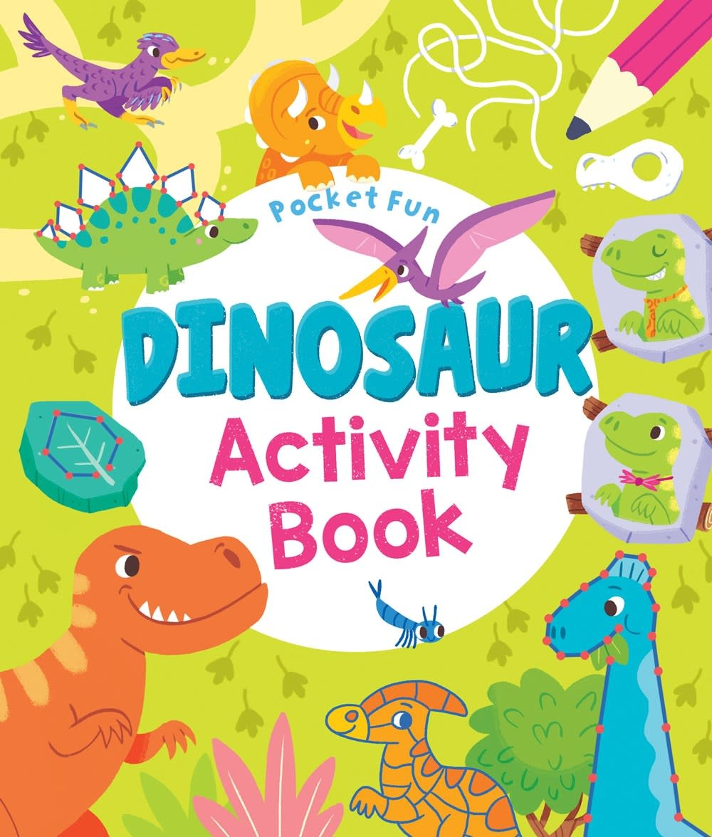 Arcturus Publishing Limited Pocket Fun: Dinosaur Activity Book