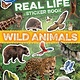 Silver Dolphin Books Discovery Real Life Sticker Book: Wild Animals