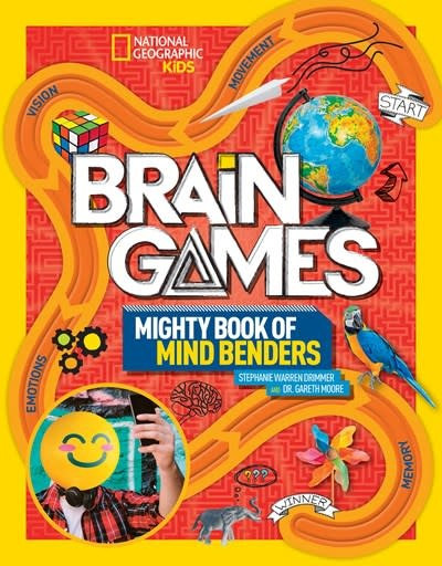 National Geographic Children's Books Brain Games 2