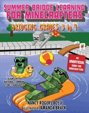 Sky Pony Summer Bridge Learning For Minecrafters Grades 3-4
