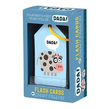 Jimmy Fallon Your Baby's First Word Will Be Dada Flash Cards