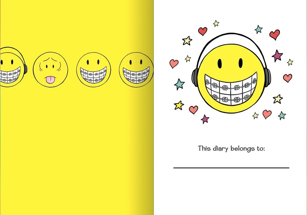 Clarkson Potter My Smile Diary: An Illustrated Journal with Prompts