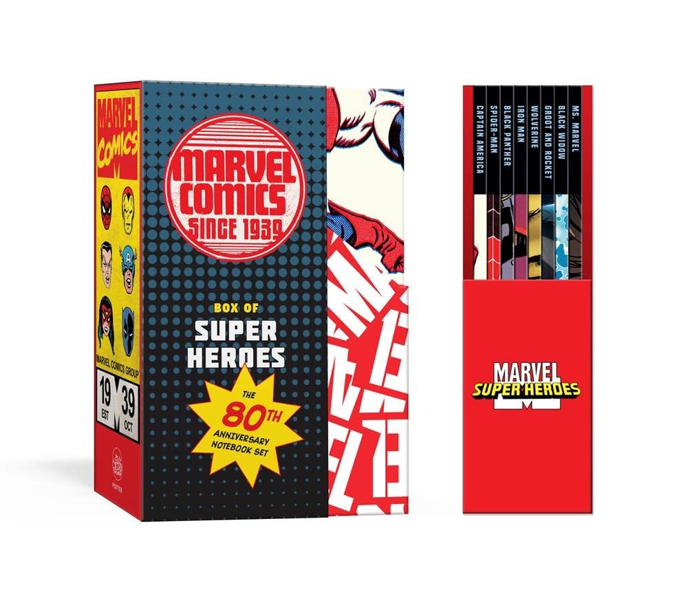 Clarkson Potter Marvel's Box of Super Heroes