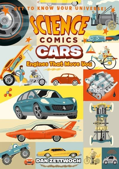 First Second Science Comics: Cars