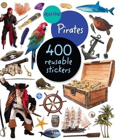 Workman Publishing Company EyeLike Stickers: Pirates