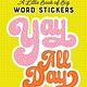 Workman Publishing Company A Little Book of Big Word Stickers