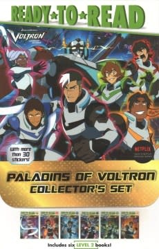 Simon Spotlight Paladins of Voltron Boxed Set (6 Books and 30 stickers!)