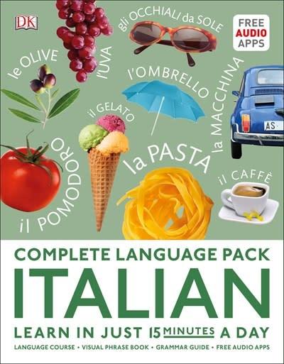 DK DK Complete Language Pack: Italian