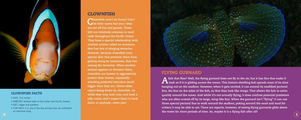 Sterling Children's Books Clownfish Aren't So Funny